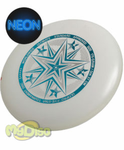 Фрисби Ultimate UltiPro Fivestar white-neon