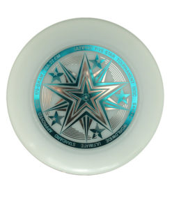 Фрисби Ultimate UltiPro Fivestar white-neon 2