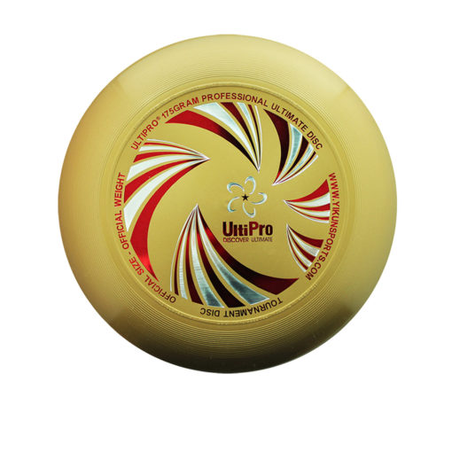 Фрисби Ultimate UltiPro UltiWave gold 2