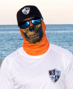 Бафф Tactical Orange Skull 2